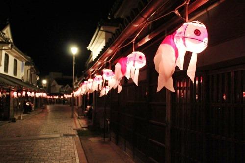 柳井 金魚ちょうちん祭り 画像