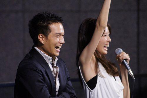 ドッグポリス 広島パセーラ イベントにて 市原隼人と戸田恵梨香