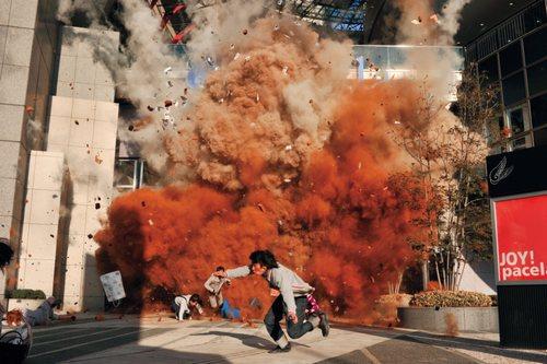 映画 ドッグポリス 広島パセーラ爆破シーン