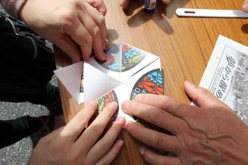 マンホール折り紙 4