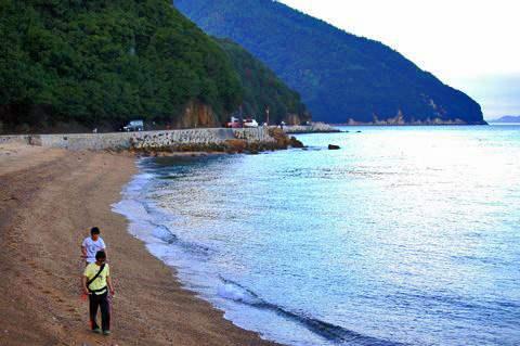 福山市 横島、海岸沿いの美しい景色2