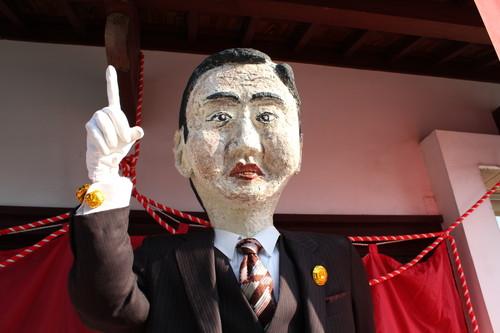 上下かかしまつり 2011、今年の人気テーマはやはり「なでしこジャパン」
