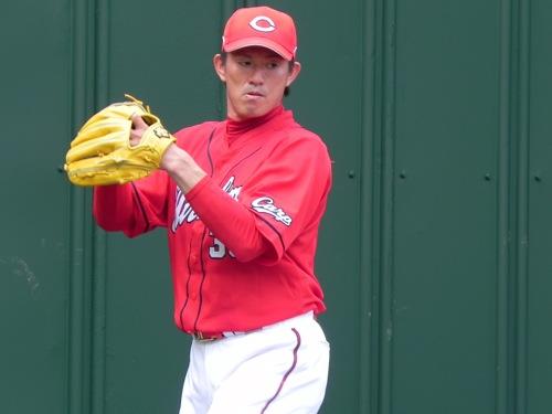 広島 豊田清投手 引退、「言葉が見つかりません」