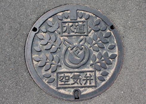 広島県 福山のマンホール