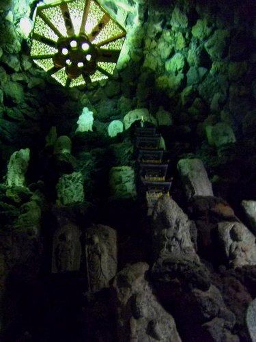 生口島 耕三寺の洞窟
