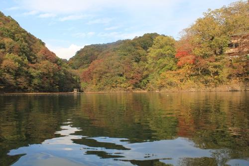 帝釈峡 遊覧船からの景色 画像1