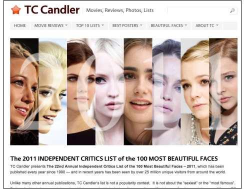 2011年 世界で最も美しい顔100 一覧発表!日本人は 佐々木希、蛯原友里がランクイン