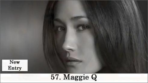 2011 世界で最も美しい顔100 57番