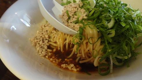 麻辣商人(マーラー商人)、広島市 大芝の 汁なし担々麺7