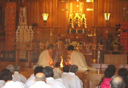 2012 広島護国神社 とんど祭