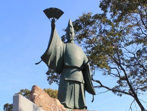 平清盛 音戸の瀬戸公園の像
