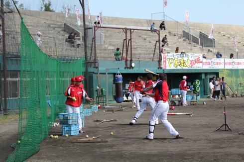 広島カープ、2012沖縄キャンプスタート