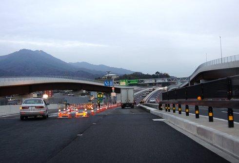 廿日市高架橋 西広島バイパスの延長工事が開通 2