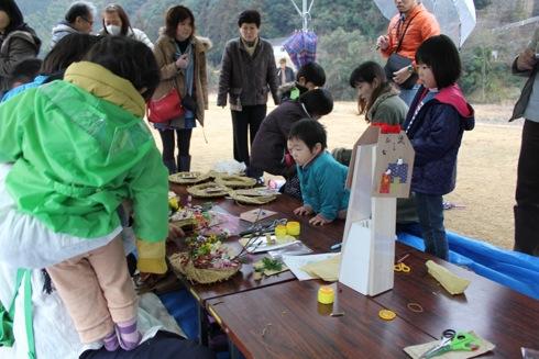 大竹市 雛流しの様子 7