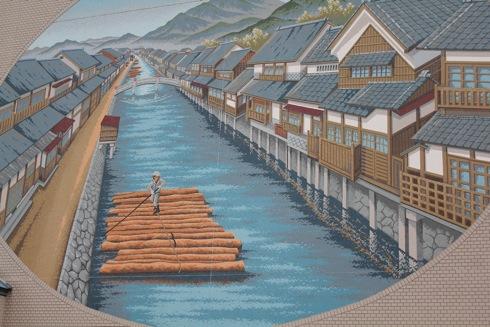 福山市松永の木材港 画像 2