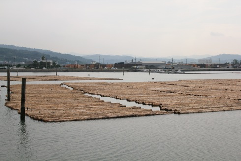 福山市松永の木材港 と、その歴史感じる小さな公園