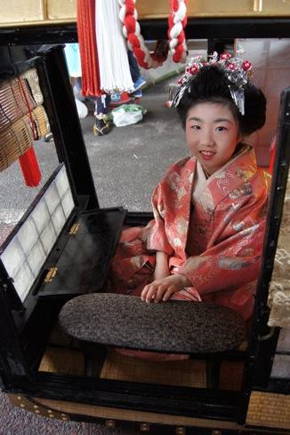 音戸清盛祭2012、5年ぶりのイベントは 雨の中