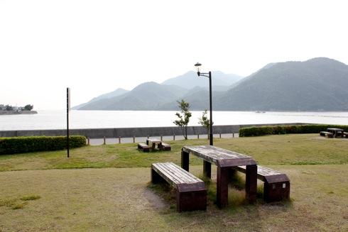 小田島公園 からの海の風景 画像