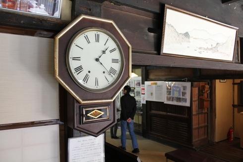 旧柴屋住宅 時計の画像