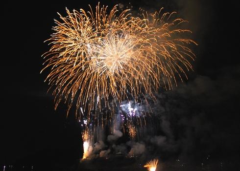 福山鞆の浦弁天島花火大会2012 画像13