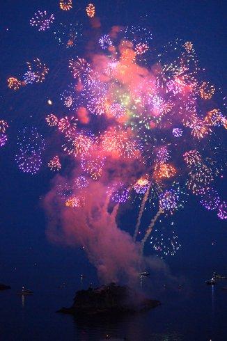 福山鞆の浦弁天島花火大会2012 画像2