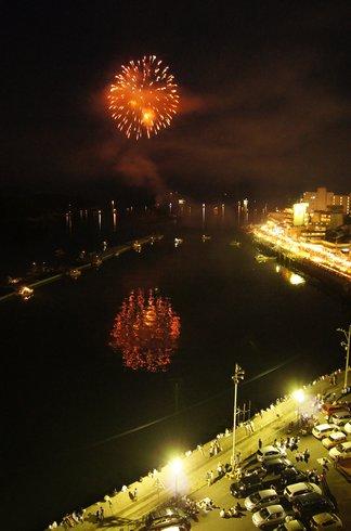 福山鞆の浦弁天島花火大会2012 画像3