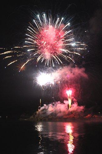 福山鞆の浦弁天島花火大会2012 画像6