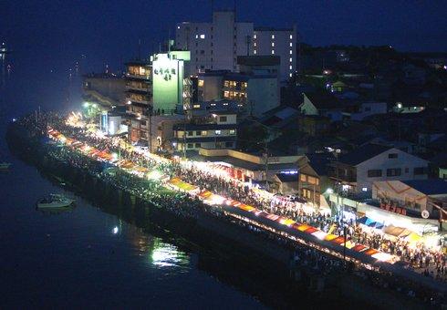 福山鞆の浦弁天島花火大会2012 画像9