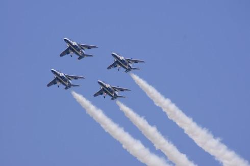 岩国基地 ブルーインパルス 自衛隊航空ショー 画像5