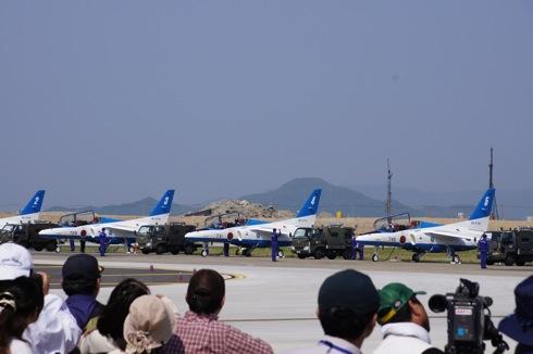 岩国基地 ブルーインパルス 自衛隊航空ショー 画像7