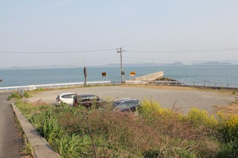 大崎下島 御手洗地区の観光なら、隠れた場所に 無料駐車場