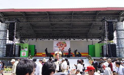 福山ばら祭2012 緑町公園の様子5