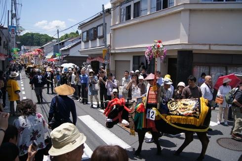 壬生の花田植え 練り歩き 画像15
