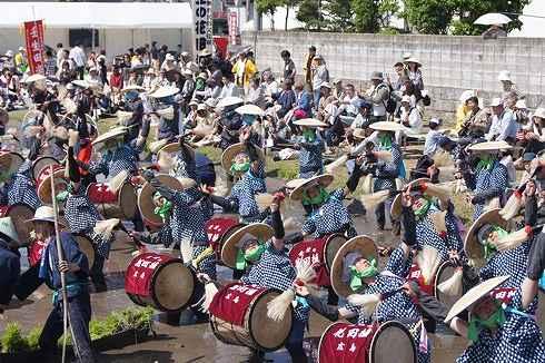 壬生の花田植え 囃子の画像33