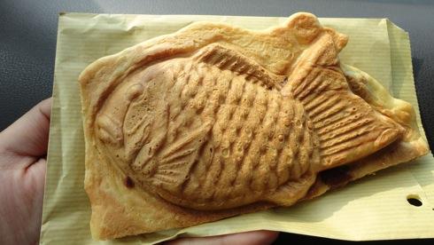 安芸太田町の人気店 鯛焼屋よしお、羽つき たい焼きが飛ぶように