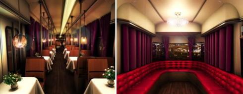 トランヴェールエクスプレス、ドルトムント電車がレストランに