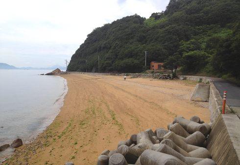 グイビ海岸、福山内海町の隠れ