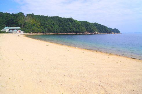 広島の 桂浜海水浴場 画像5