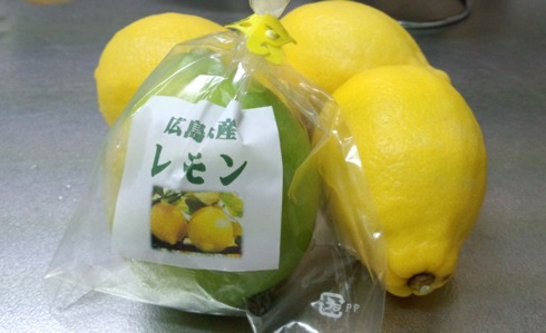 広島レモンのはちみつ漬け、作り方・レモンの旬