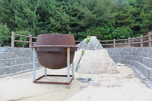 江田島 入鹿海岸の 弁慶岩の画像