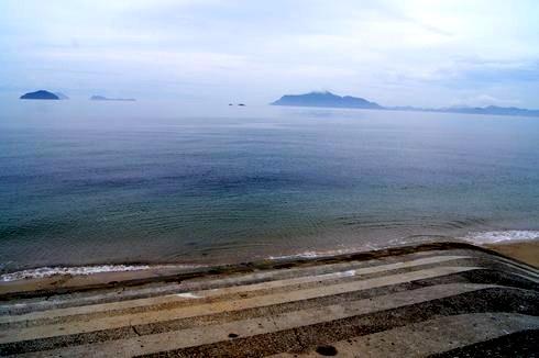 福山 横島にある横山ビーチ
