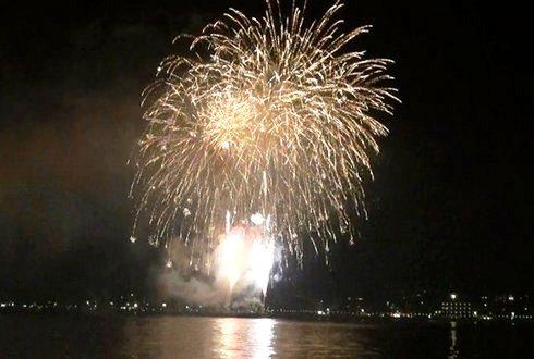 宮島水中花火大会2012 の画像12