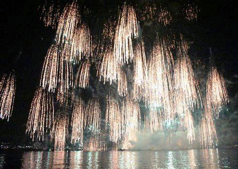 宮島水中花火大会2012 の画像3