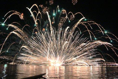 宮島水中花火大会2012 の画像5