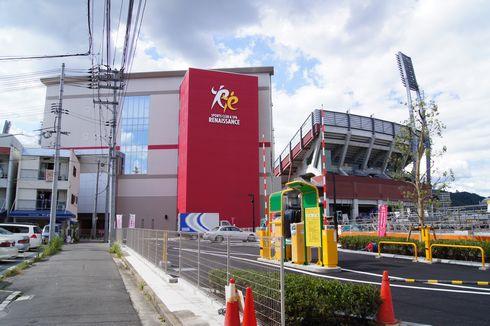 コストコ 広島倉庫店の横にある ルネサンス広島ボールパーク店