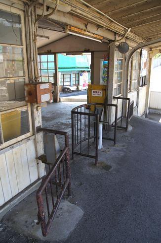 広電 廿日市駅、改札口