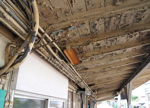 ひろでん 廿日市駅 電停、老朽化