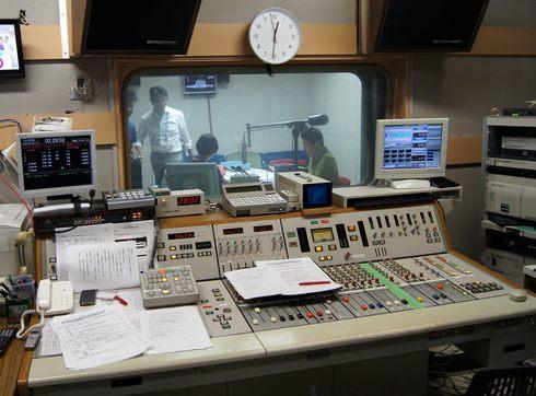 ヒビカン RCCラジオ 収録の様子