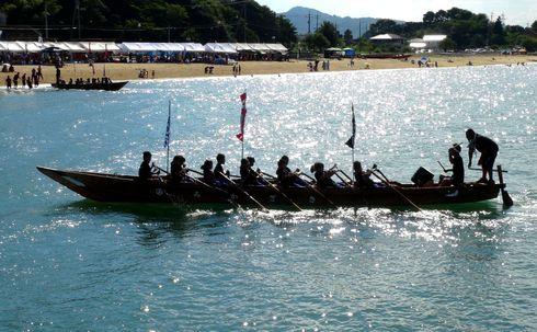 因島水軍祭り・海まつり、伝統の小早レース開催!