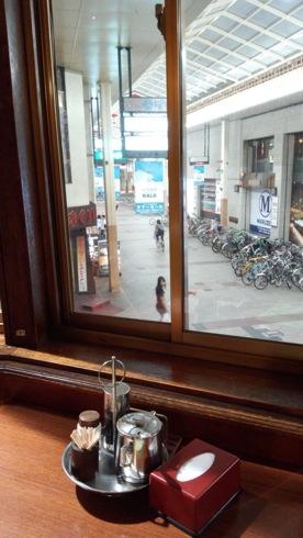 シャモニーモンブラン 広島からの えびす通りの眺め